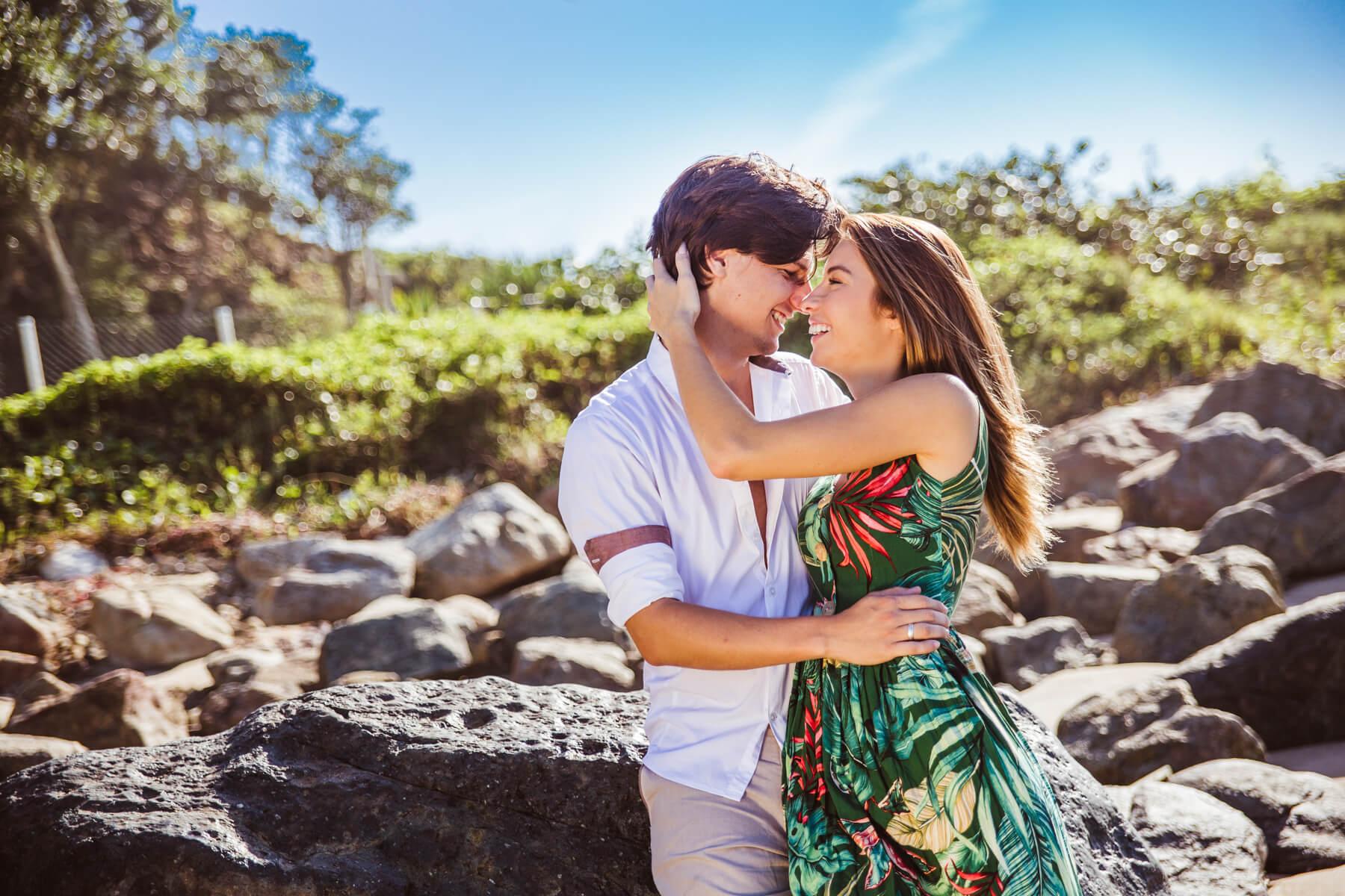 ensaio de casal praia Santa Catarina