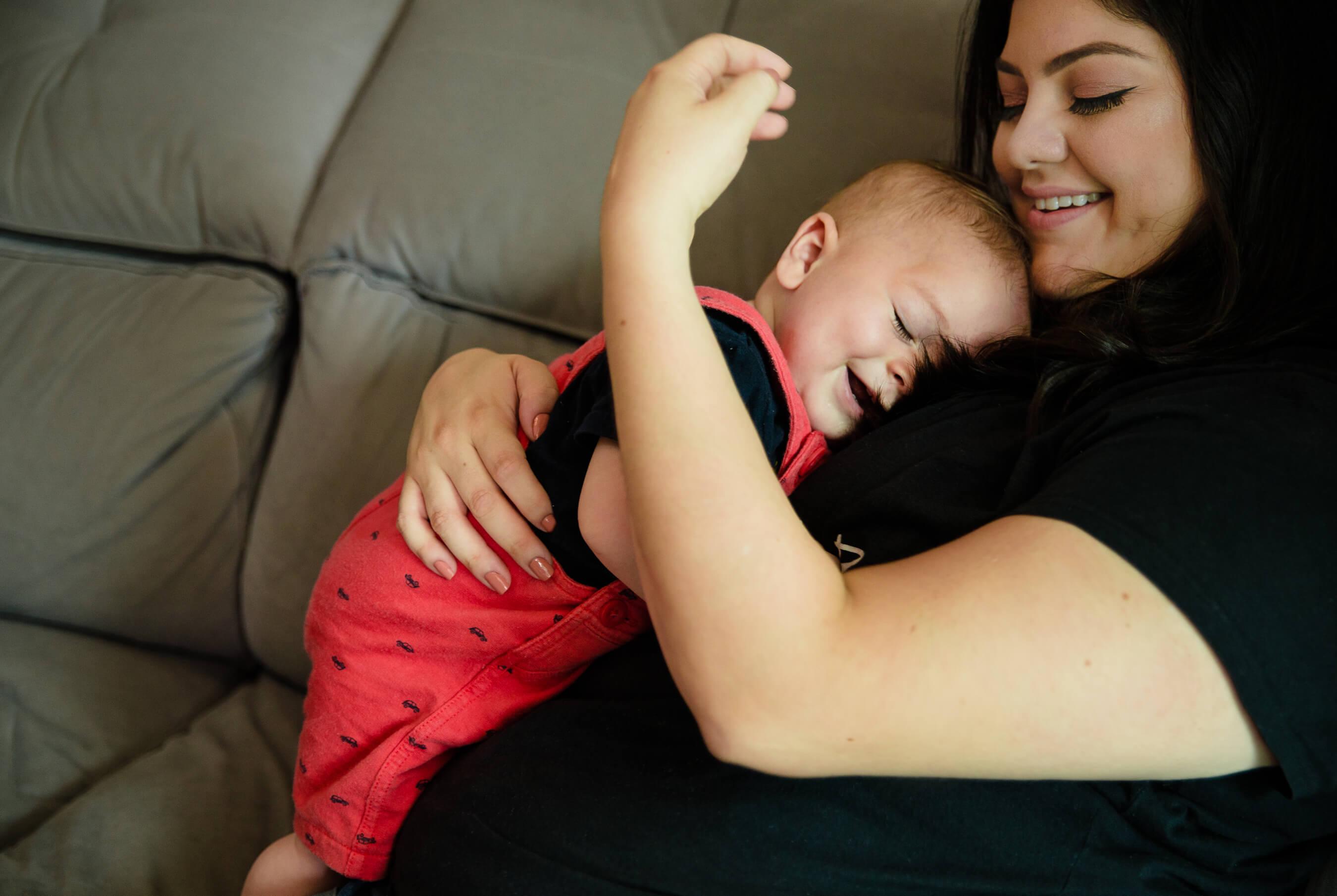 ensaio mae e bebe