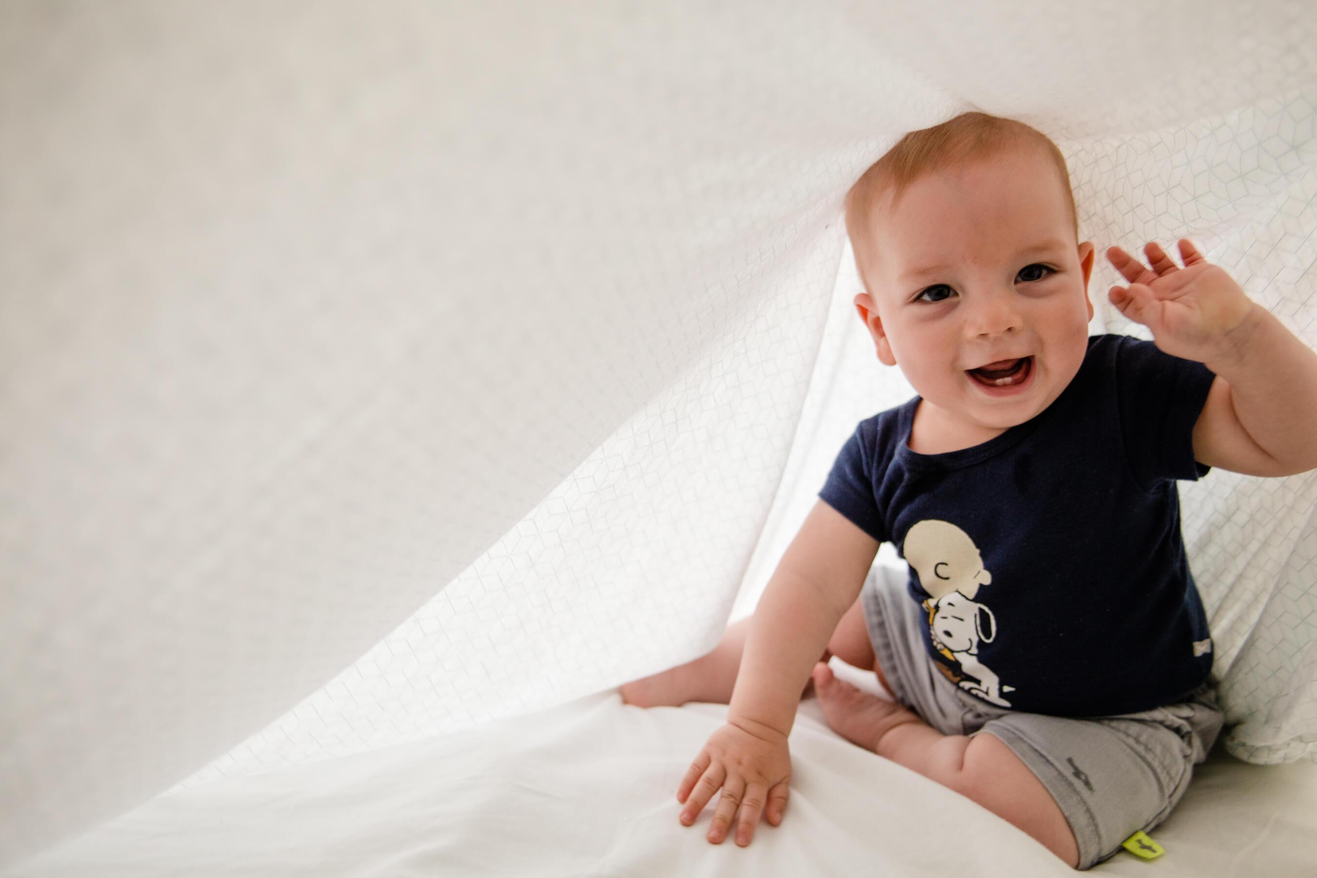 Ensaio fotográfico bebê quarto