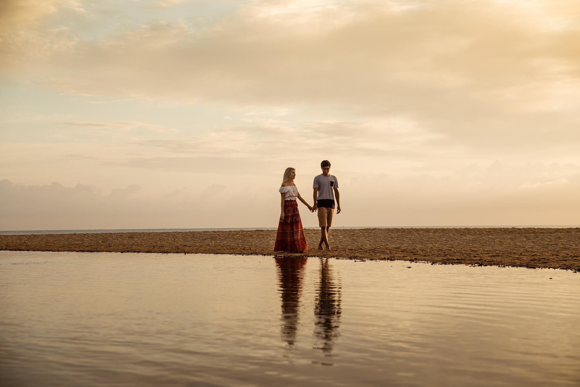 ensaio casal em itajai praia