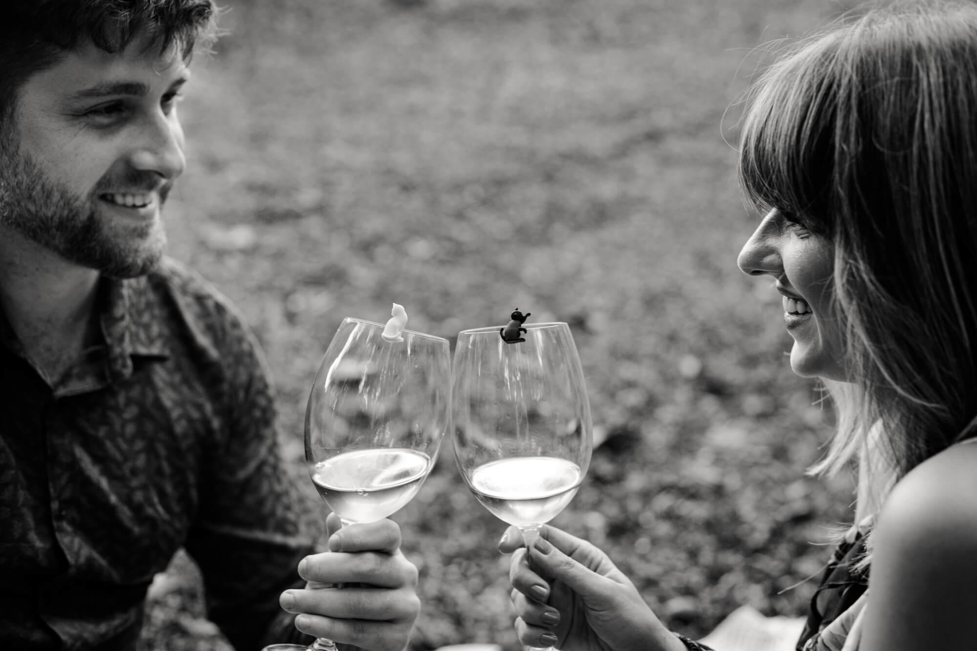 Ensaio casal com picnic