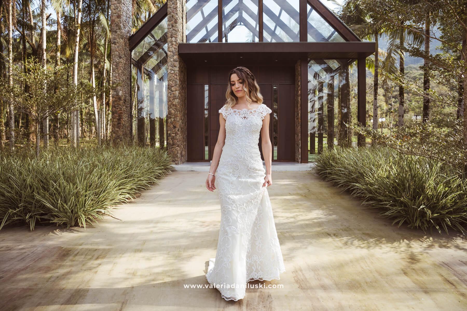 vestido de noiva campo