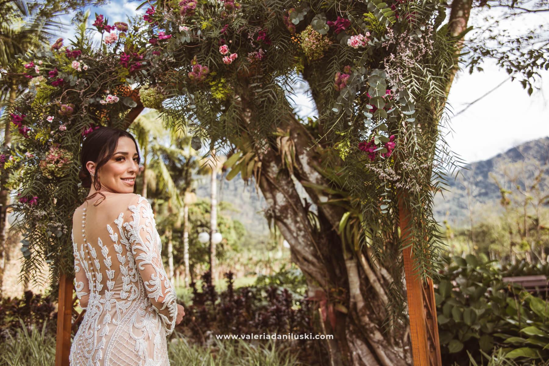 vestido de noiva boho chick