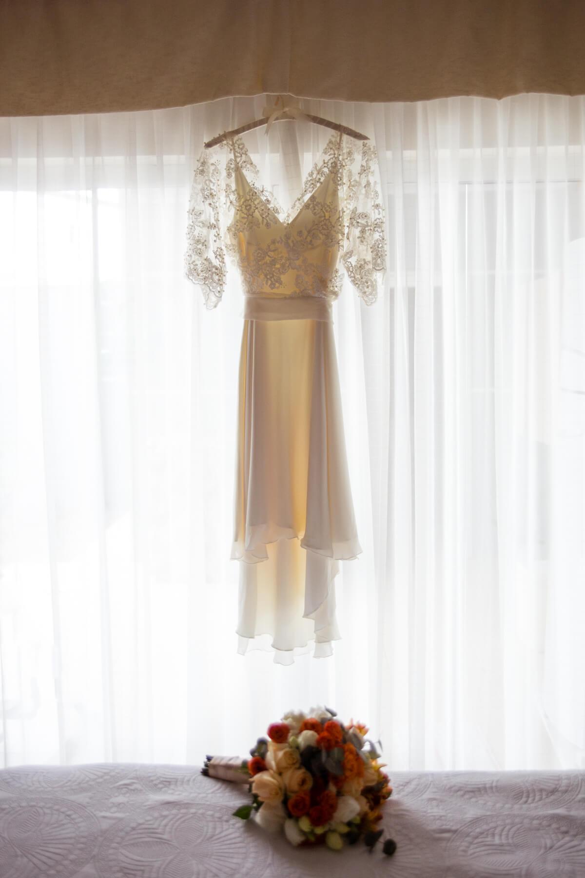 vestido de casamento minimalista